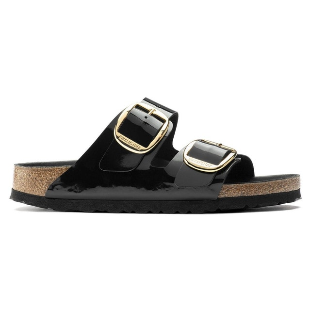 birkenstock big buckle noir